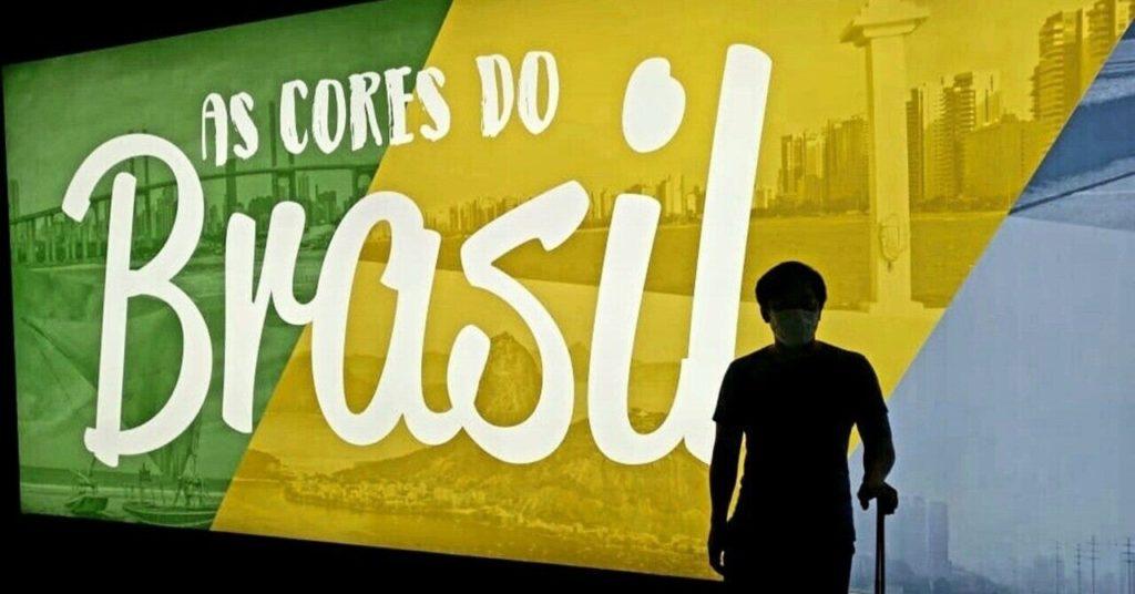 ブラジルでの記念撮影