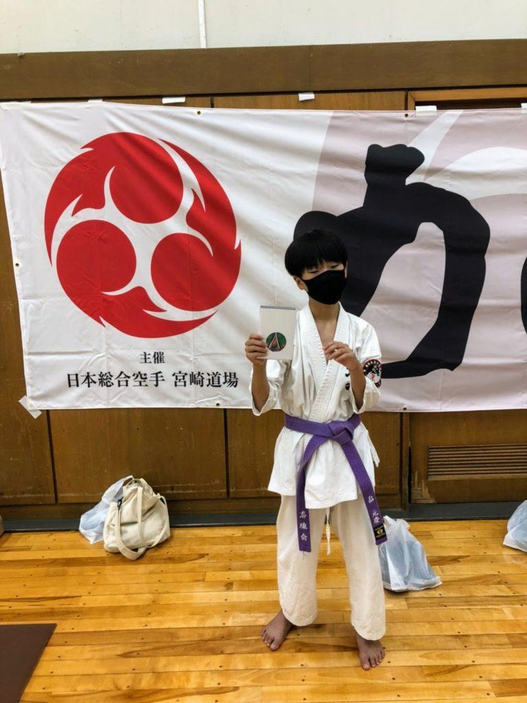 初級クラス小学5年生の部 畠元慶選手