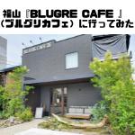 福山『BLUGRE CAFE 』(ブルグリカフェ)